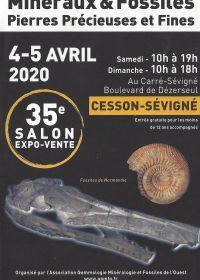 35ème salon Minéraux Fossiles