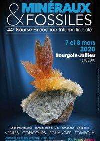 44ème bourse aux minéraux et fossiles et bourse d'échanges