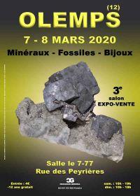 3ème salon bourse aux minéraux fossiles bijoux