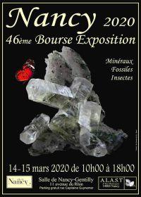 46ème bourse exposition minéraux fossiles et insectes