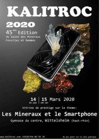 45ème salon des minéraux, fossiles et gemmes