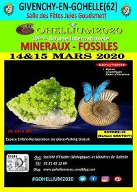 19ème Bourse Internationale Minéraux Fossiles Gohellium 2020