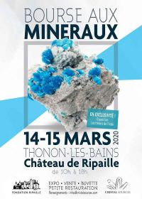 6ème Bourse aux minéraux et fossiles