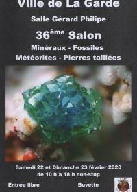 36ème bourse aux minéraux et fossiles