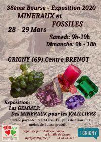 38ème bourse exposition de minéraux et fossiles