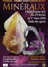 57ième Géologic salon des minéraux, fossiles et pierres précieuses