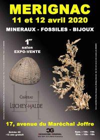 1ère édition du salon aux minéraux, fossiles et bijoux