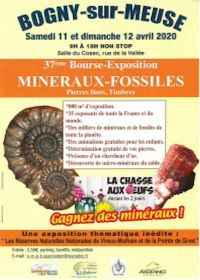 37ème bourse exposition minéraux fossiles pierres fines timbres