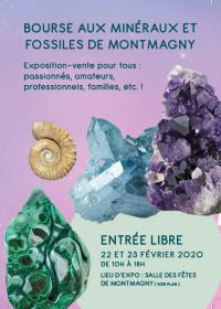 34ème Bourse aux Minéraux et Fossiles