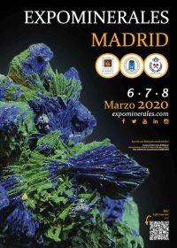 Exposition minéraux Madrid 2020