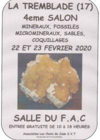 4ème salon minéraux, fossiles, microminéraux, coquillages et sable