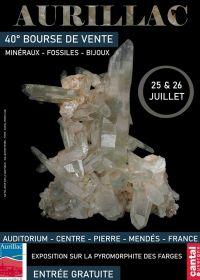 40ième Bourses de Minéraux Fossiles et Bijoux