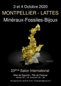 Bourse Internationale Minéraux Fossiles pierres taillées Lattes Montpellier