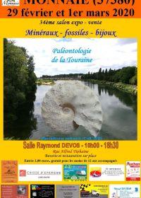 34ème Bourse expo-vente de minéraux et fossiles