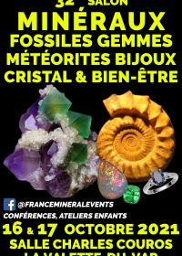32ème Salon MinéralEvent La Valette-du-Var - Minéraux, Fossiles, Cristal & Bien-être, Gemmes, Bijoux