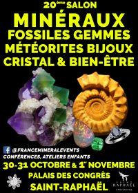 20ème Salon MinéralEvent Saint-Raphaël - Minéraux, Gemmes, Fossiles & Bijoux