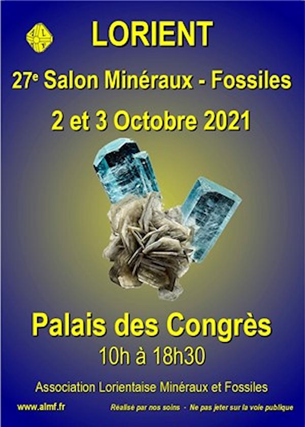 Exposition-vente Minéralogique et Paléontologique