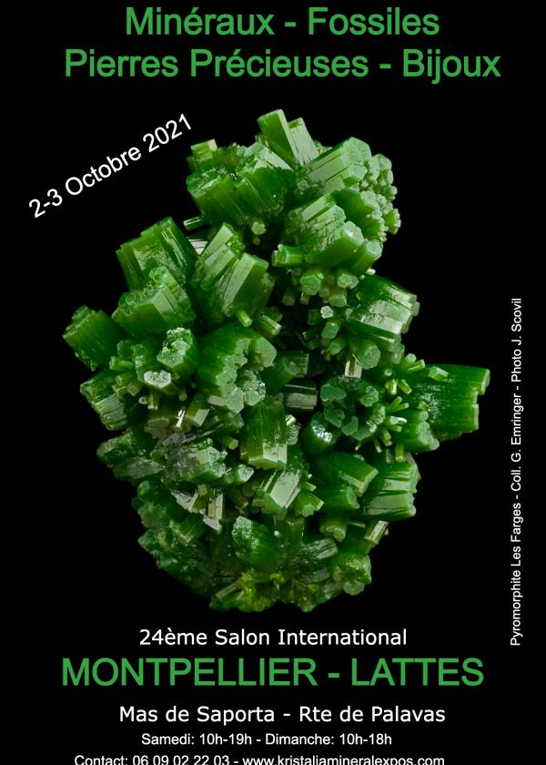 24 ième salon international minéraux fossiles bijoux