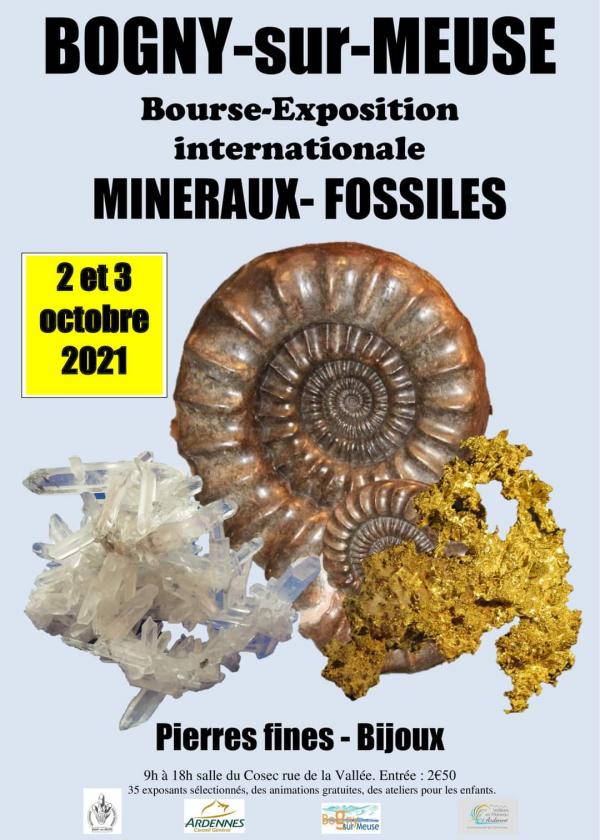 Bourse exposition international Minéraux Fossiles