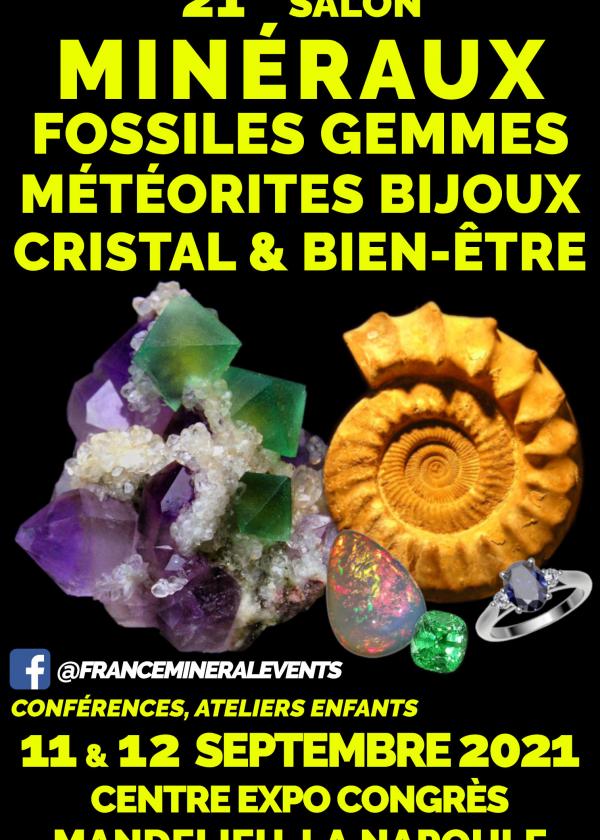 21ème Salon minéraux fossiles gemmes