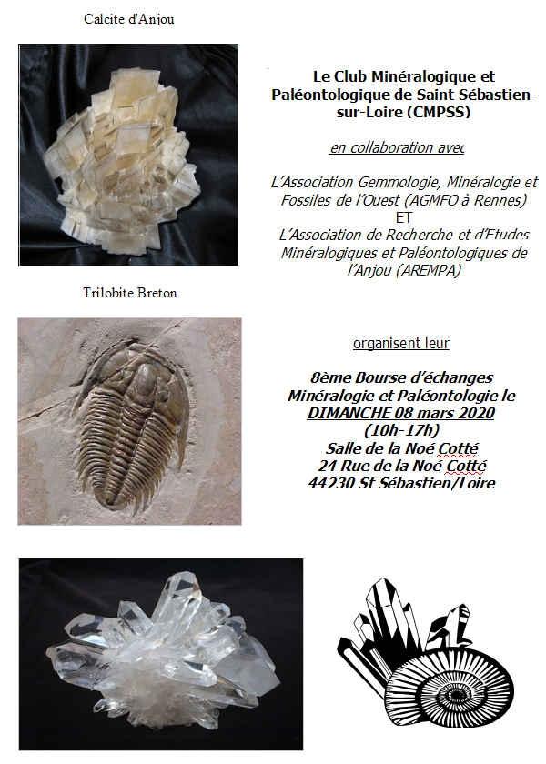 8ème Bourse d'échanges de Minéraux et Fossiles
