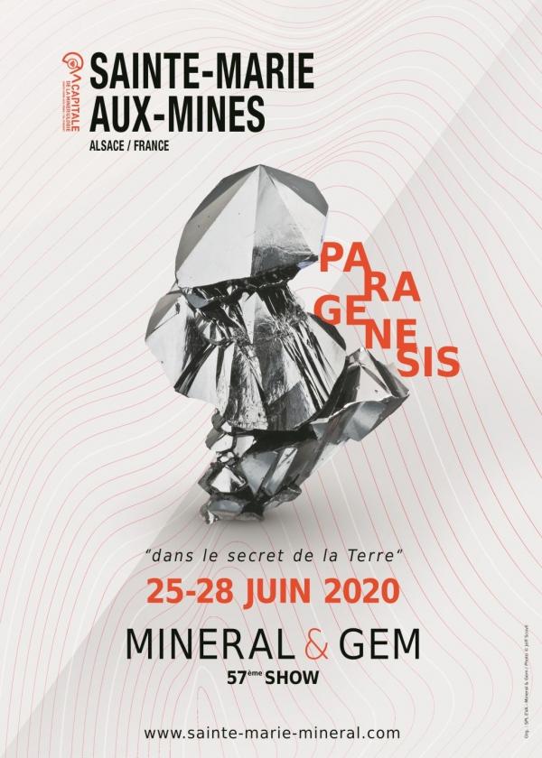ANNULEE 57ème exposition internationale Mineral et Gem