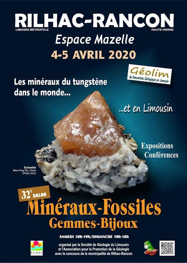 32ème salon minéraux fossiles gemmes et bijoux