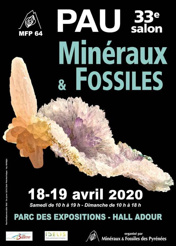 33ème Salon Minéraux et Fossiles