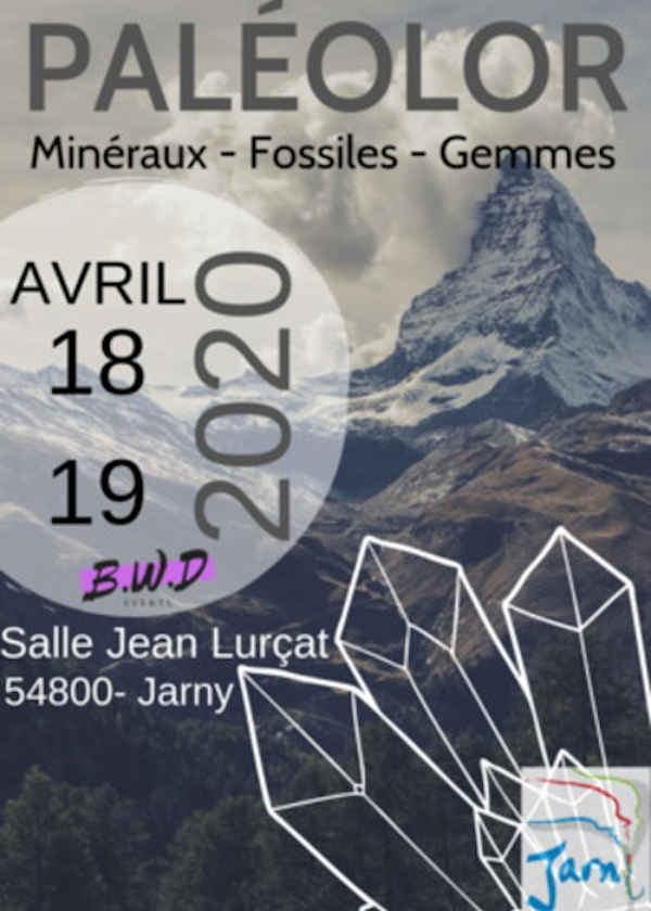 La 5ème édition du salon Minéraux Fossiles et Bijoux