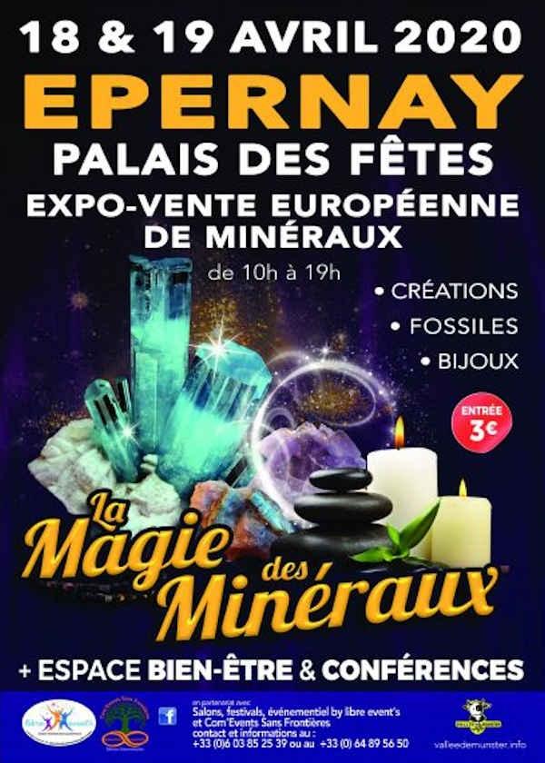 Salon européen des minéraux espace bien-être