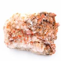 Cristaux de vanadinite sur gangue