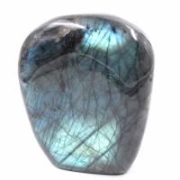 Pierre de Labradorite bleu turquoise Forme libre Bloc à poser, Pierre de protection en lithothérapie