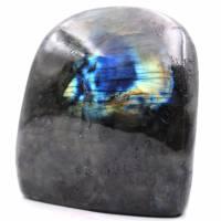 Bloc de pierre de Labradorite pour décoration et collection