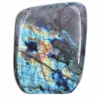 Labradorite multicolore, forme libre pour décoration