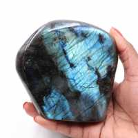 Labradorite pierre polie