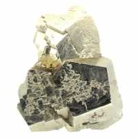 Pyrite dodecaedrique