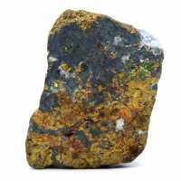 Chalcopyrite brute colorée