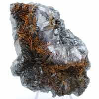 Cristallisation d'hématite sur gange d'hématite