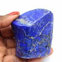 Bloc poli en Lapis-lazuli
