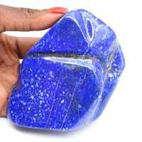 Bloc de Lapis-lazuli naturel