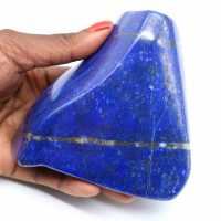 Lapis-lazuli polie de collection