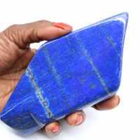 Lapis-lazuli polie pour décoration