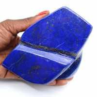 Bloc en Lapis-lazuli