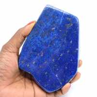 Forme libre en Lapis-lazuli