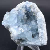 Pierre de cristaux en Célestite