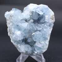 Célestite naturelle cristaux