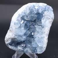 Bloc de cristaux de Célestite naturelle