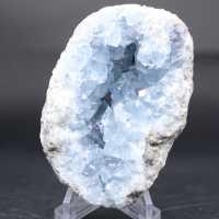 Bloc de Célestite en cristaux