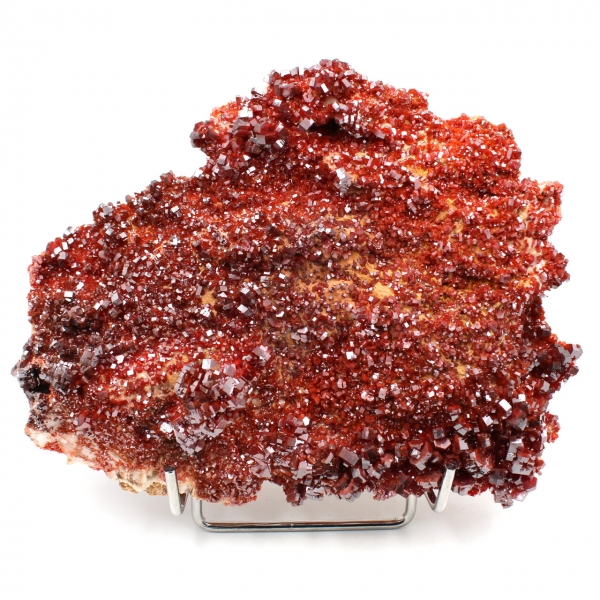 Cristaux de pierre de vanadinite