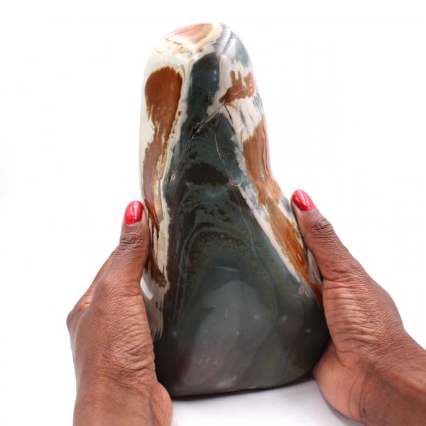 Jaspe imprimée de 2.5 kilo, pierre de décoration